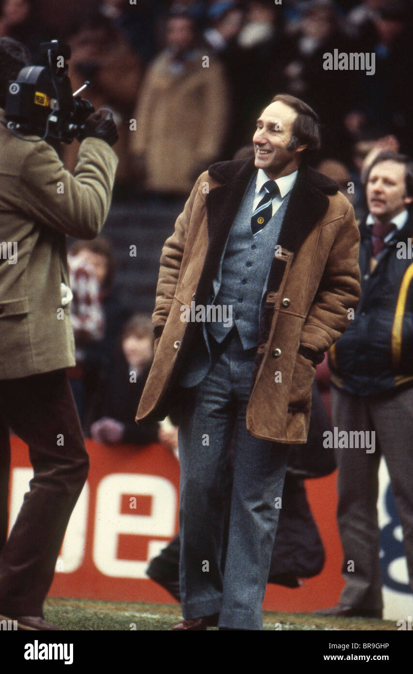 Aston Villa manager Tony Barton in 1982 - Stock Image