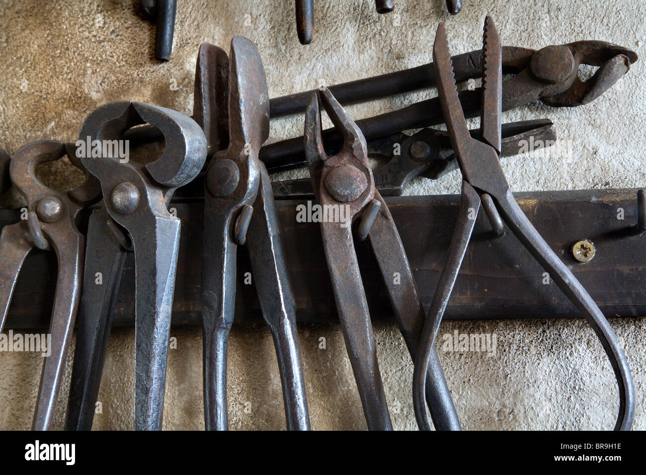 tools from smithy - Stock Image