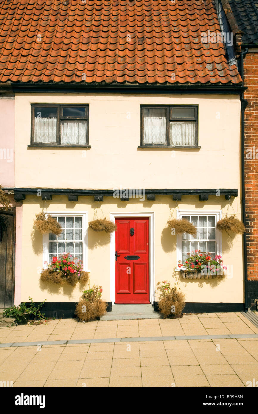 Building, Old Market, Beccles, Suffolk, England - Stock Image