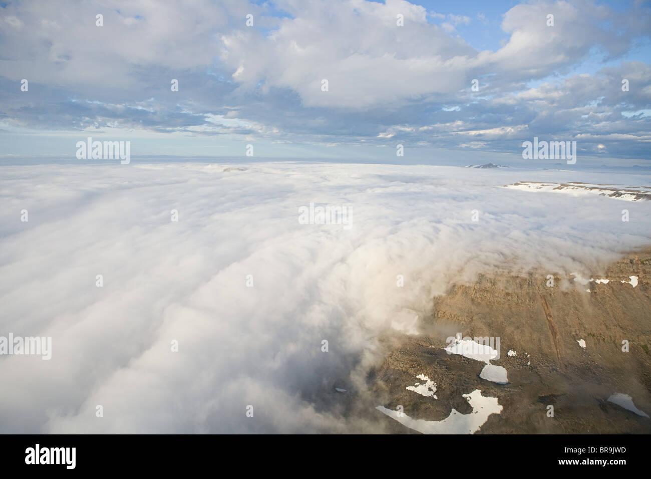 Iceland, lakagigar volcanic fissure - Stock Image