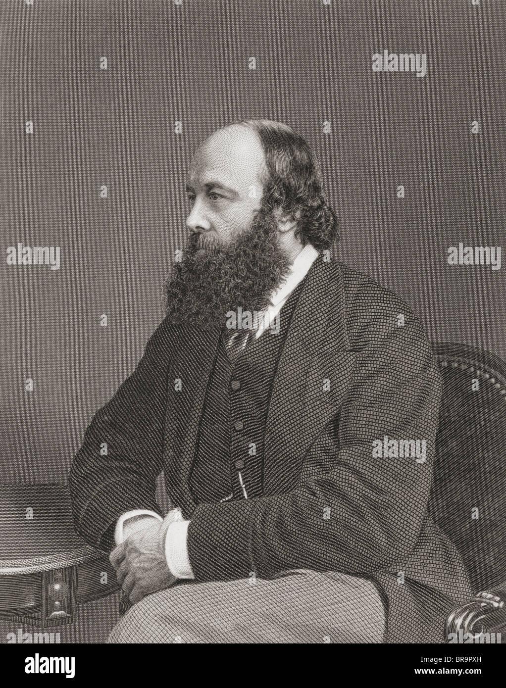 Robert Arthur Talbot Gascoyne-Cecil, 3rd Marquess of Salisbury, 1830 to 1903. British Conservative statesman and - Stock Image
