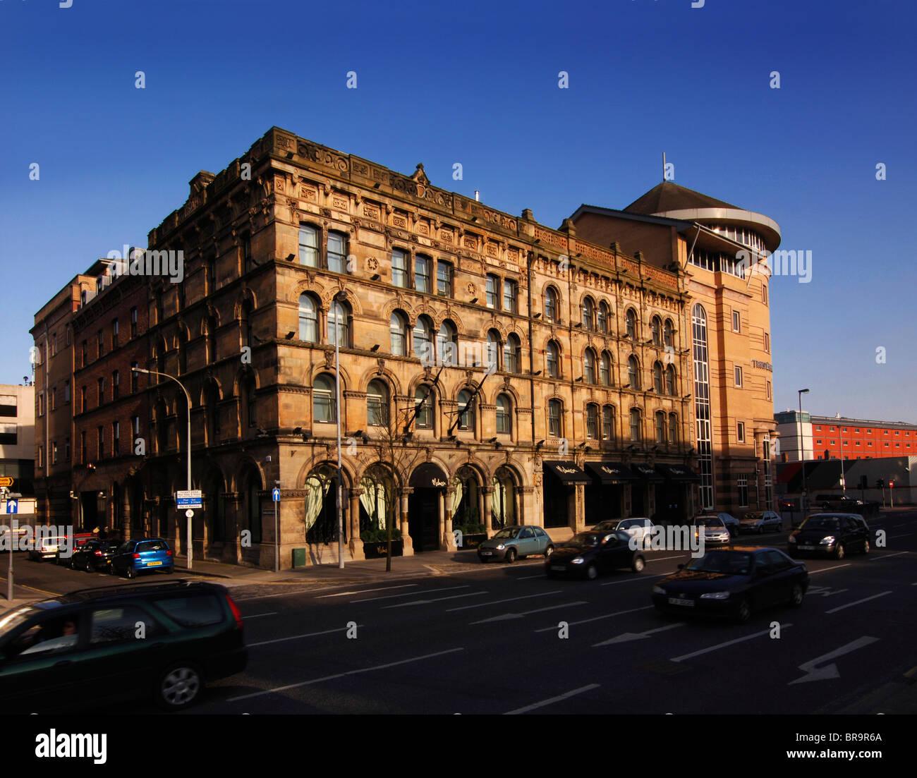Malmaison Hotel, Belfast, Ireland Stock Photo