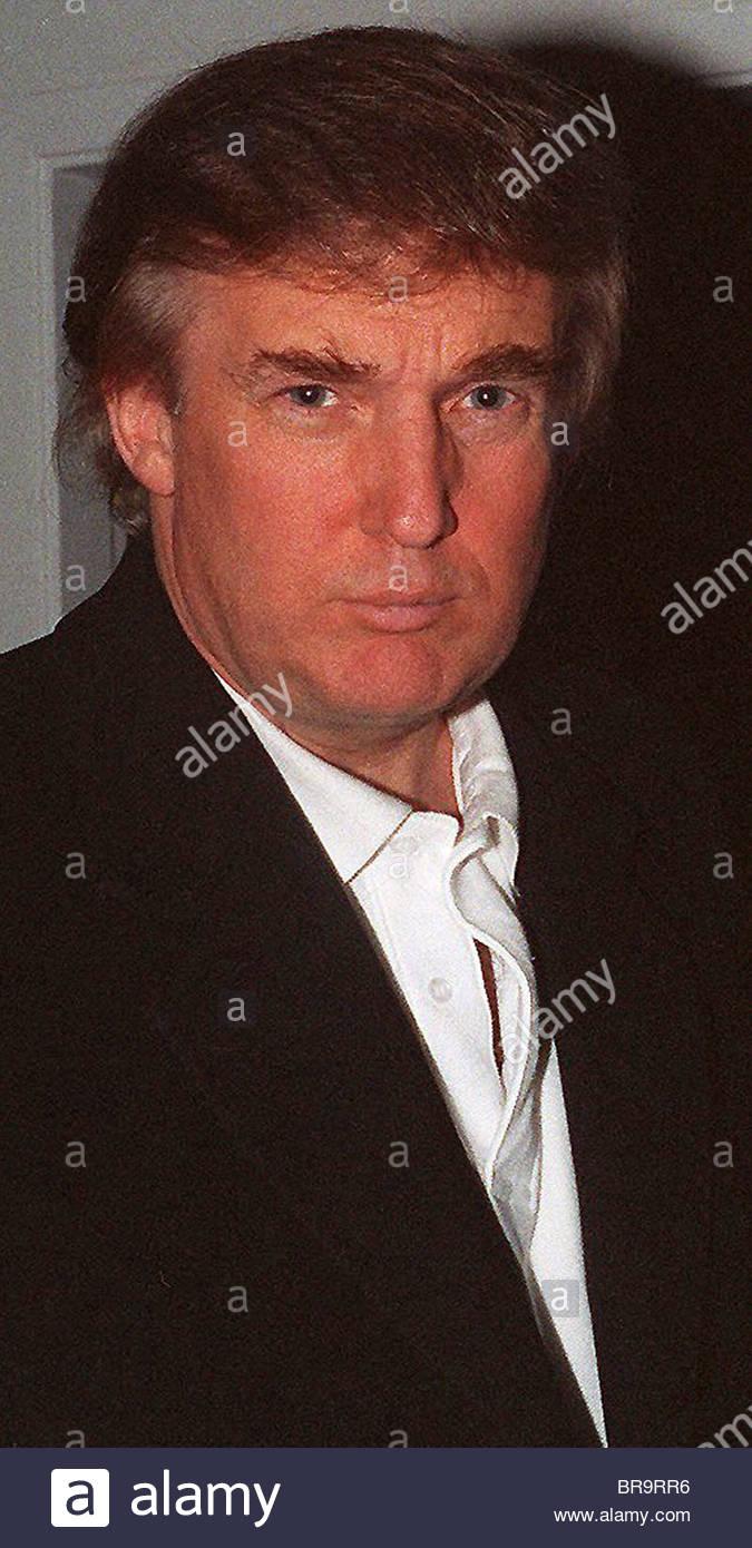 Donald Trump Aspen Colorado USA - Stock Image