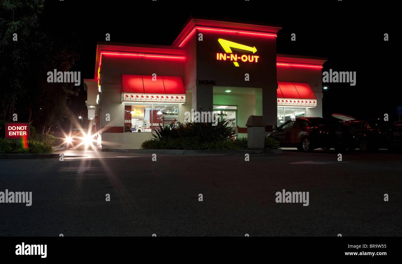 Fast Food Burger Restaurants California