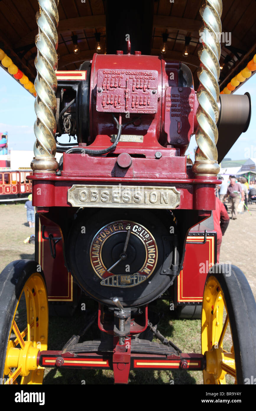'Obsession' steam engine - Stock Image