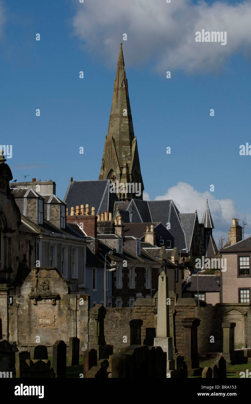 Irvine Scotland Stock Photo