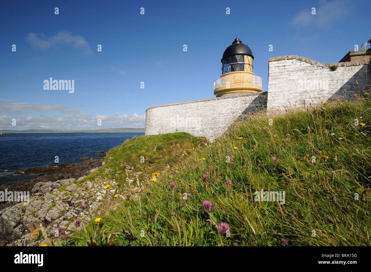 Hoy Low lighthouse, Graemsay, Orkney Isles, Scotland - Stock Image