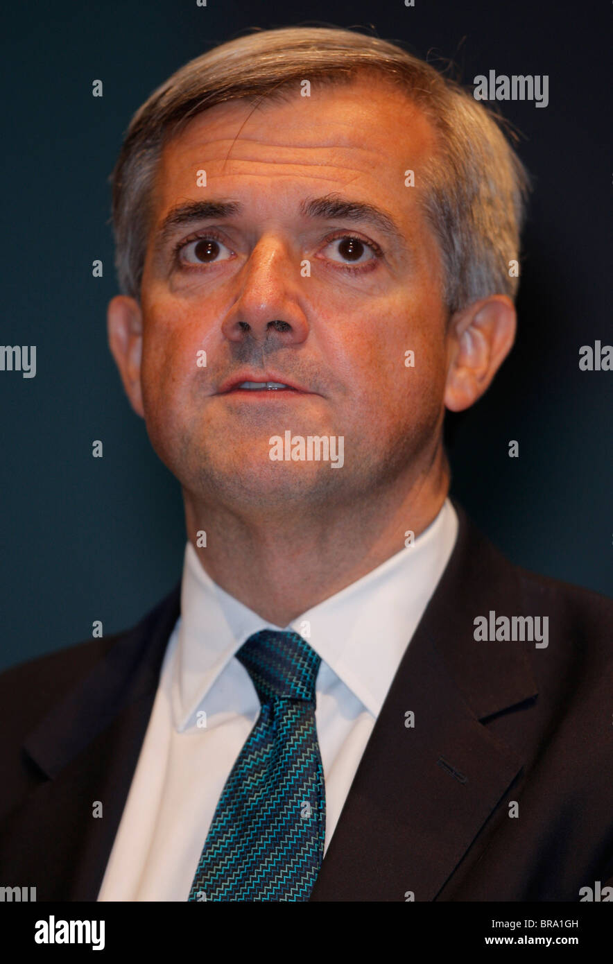 CHRIS HUHNE MP SECRETARY OF STATE FOR ENERGY 21 September 2010 THE ACC LIVERPOOL ENGLAND - Stock Image