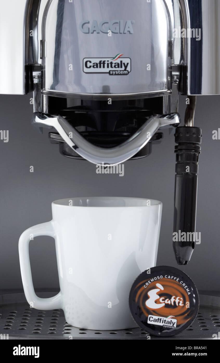 gaggia coffee machine stock photos gaggia coffee machine. Black Bedroom Furniture Sets. Home Design Ideas