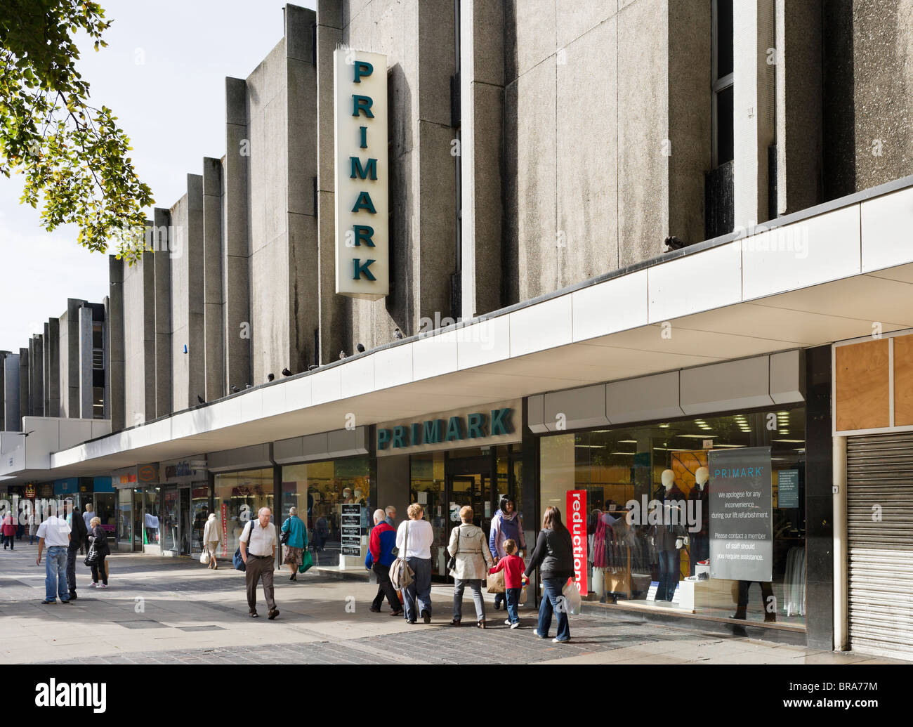 Primark discount store in Huddersfield town centre, West Yorkshire, England, UK - Stock Image