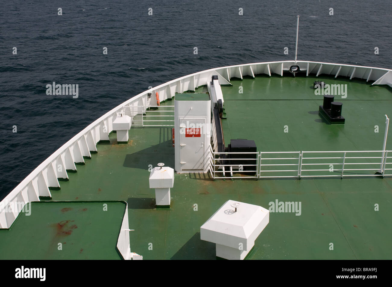 Muster area MV Joey Smallwood - Stock Image
