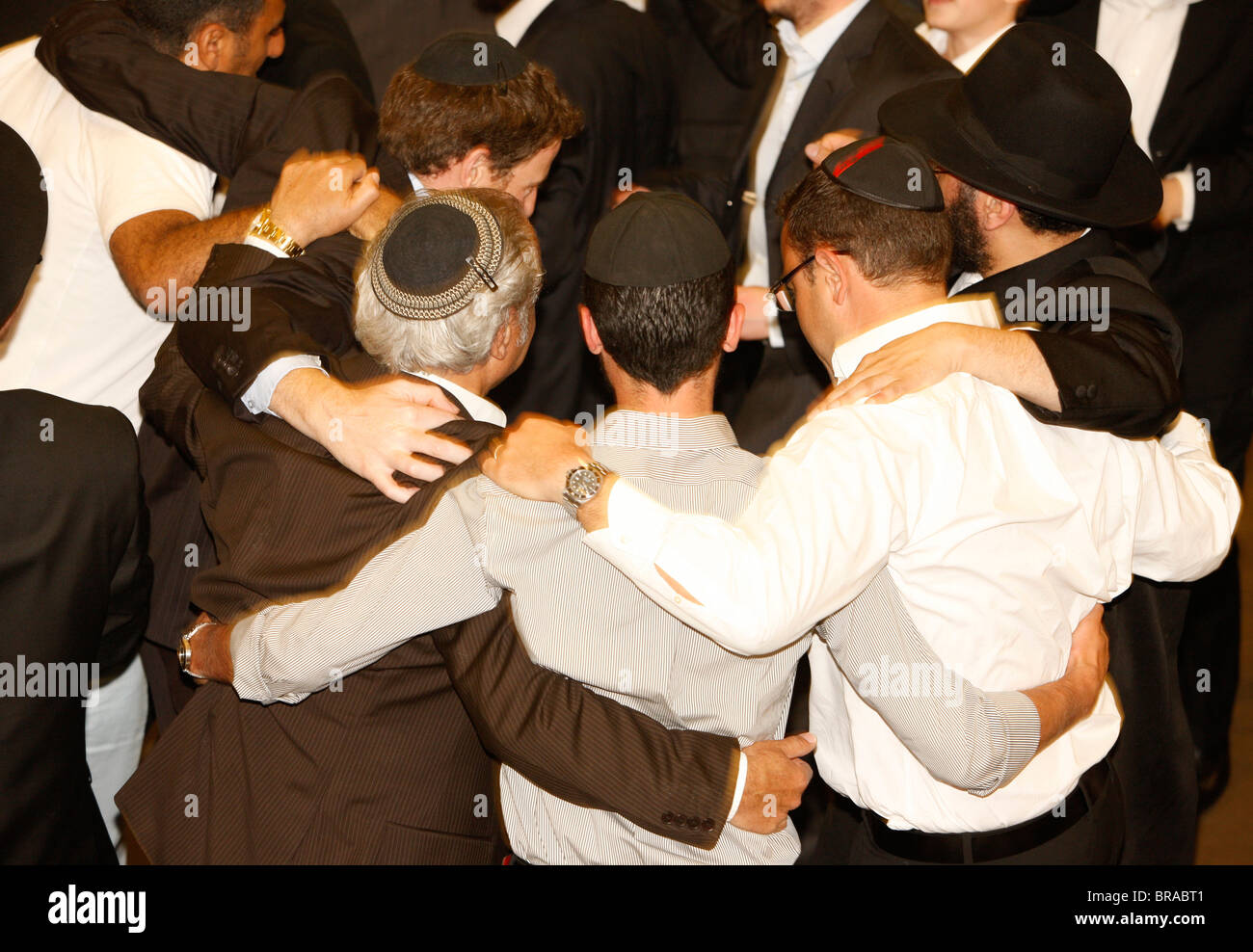 Chabad (Lubavitch) Bar Mitzvah party, Paris, France, Europe - Stock Image