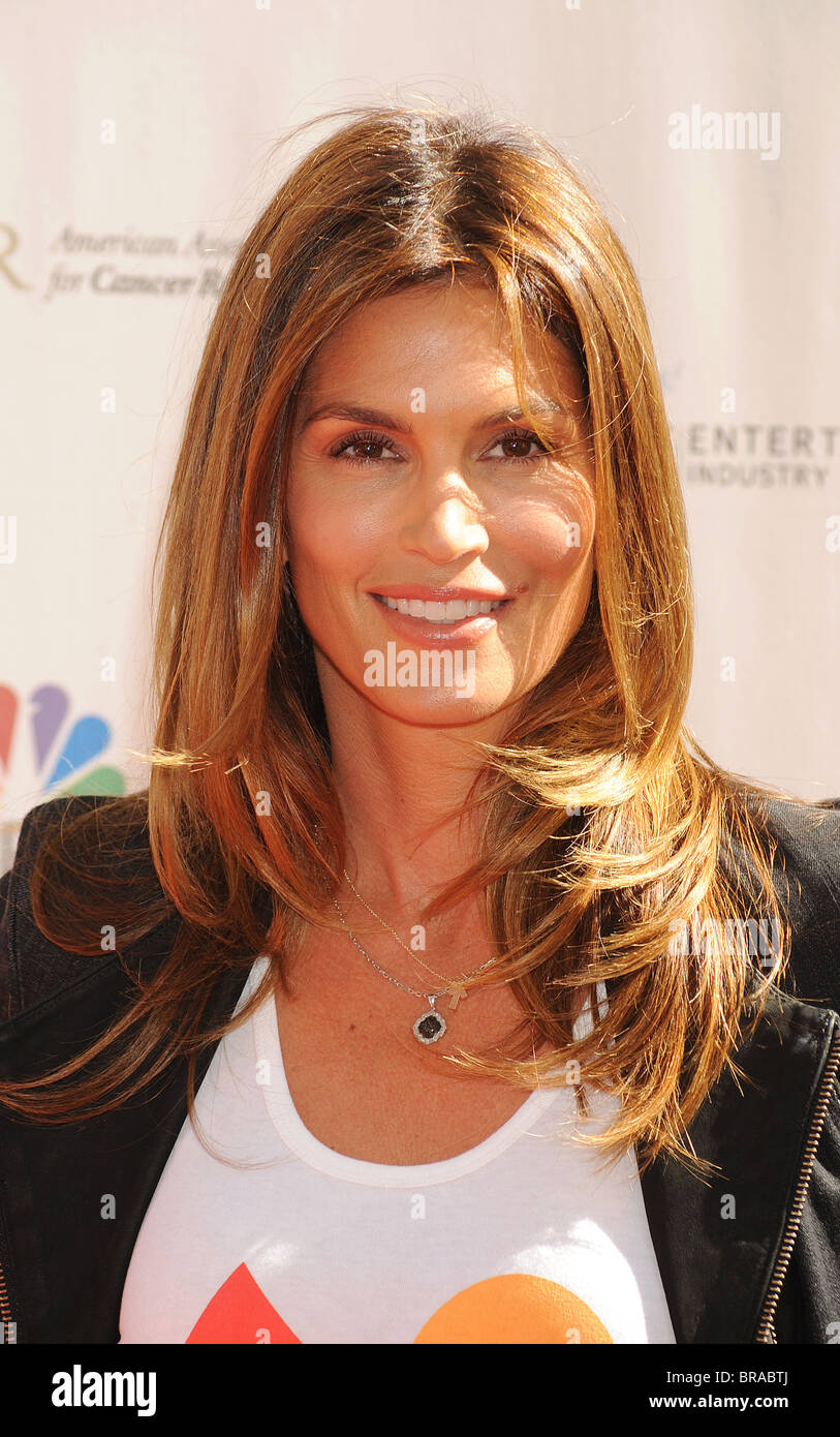 CINDY CRAWFORD  actress and former US fashion model in September 2010. Photo Jeffrey Mayer - Stock Image