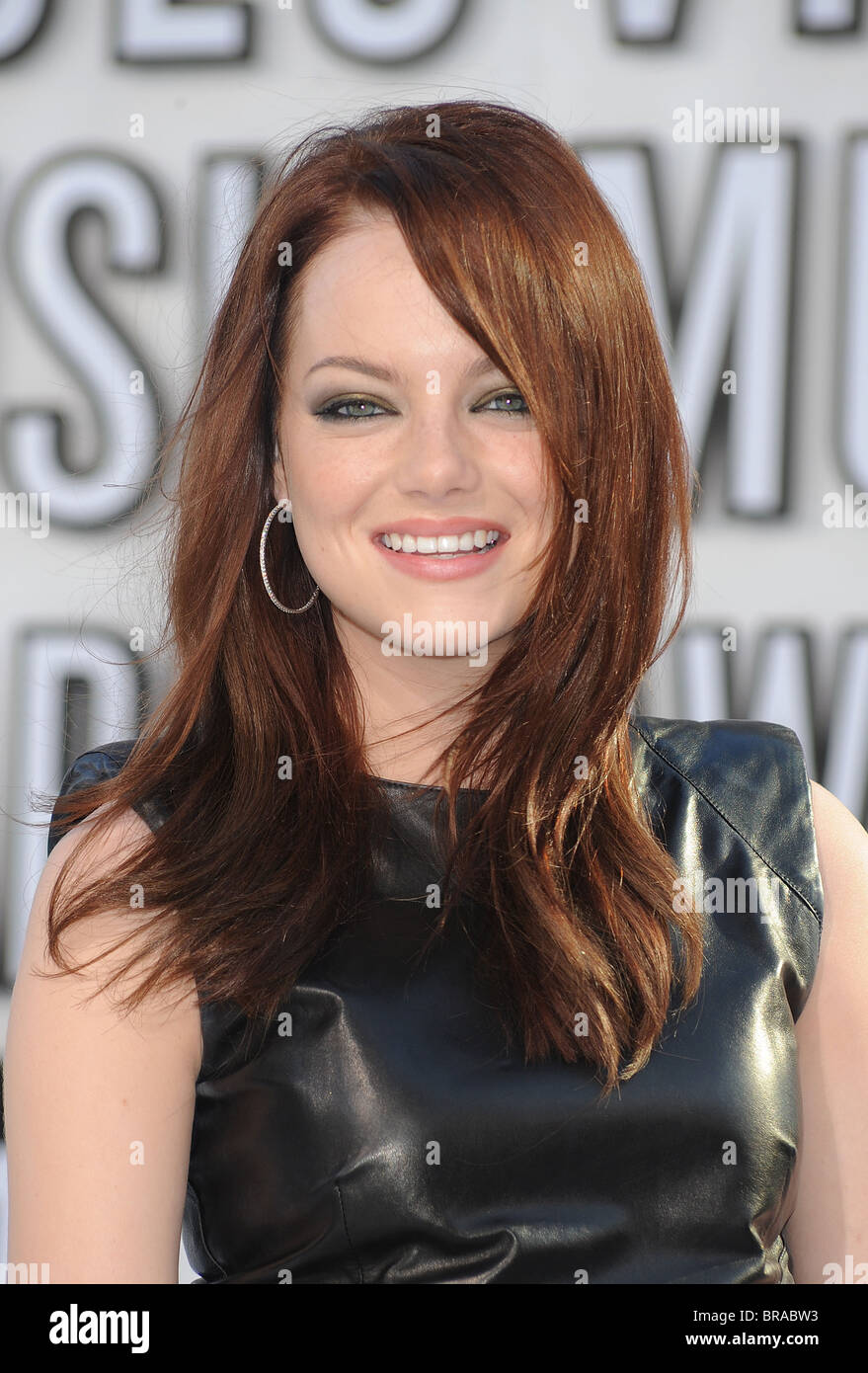EMMA STONE -US actress in September 2010. Photo Jeffrey Mayer - Stock Image