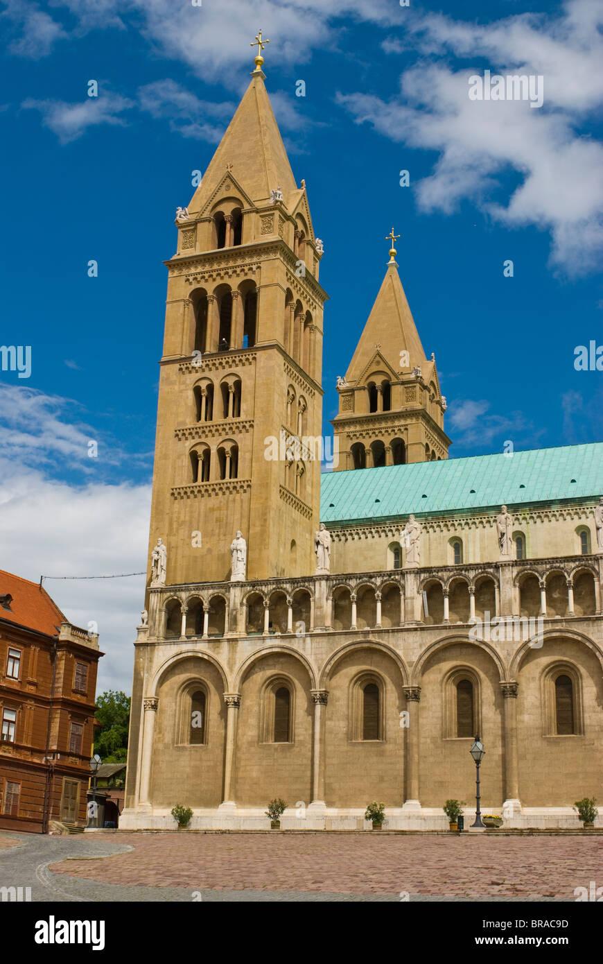 Szent Peter Basilica, Pecs, Hungary, Europe - Stock Image