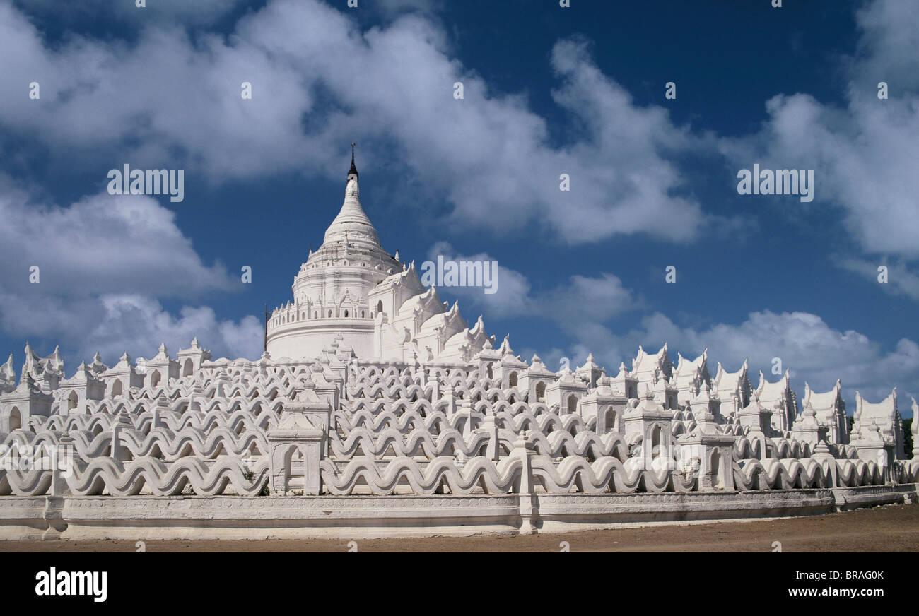 The Hshinbyume Pagoda, Mingun, Mandalay Division, Myanmar (Burma) - Stock Image