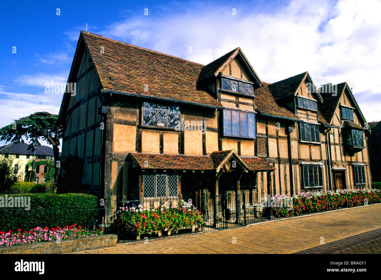 William Shakespeares Birthplace And Home 1564 Stratford Upon Avon England