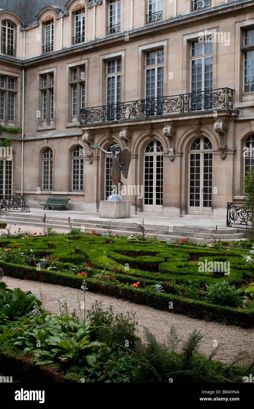 Musee Carnavalet, Marais, Paris, France - Stock Image