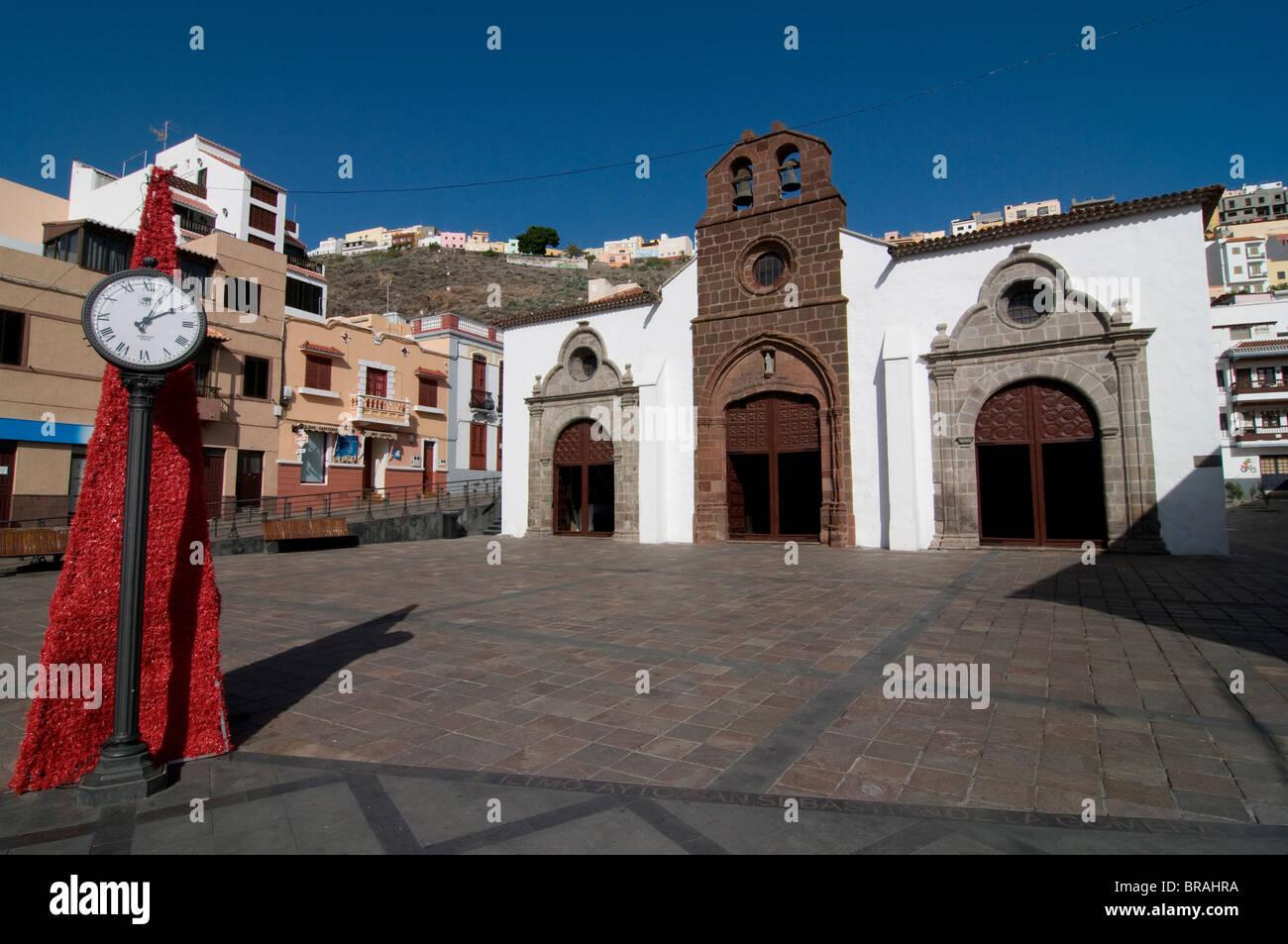 Iglesia de la Virgen de Asuncion, San Sebastian de la Gomera, La Gomera, Canary Islands, Spain, Europe - Stock Image