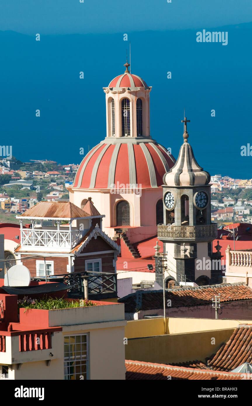 Iglesia de la Concepcion, La Orotava, Tenerife, Canary Islands, Spain, Europe - Stock Image