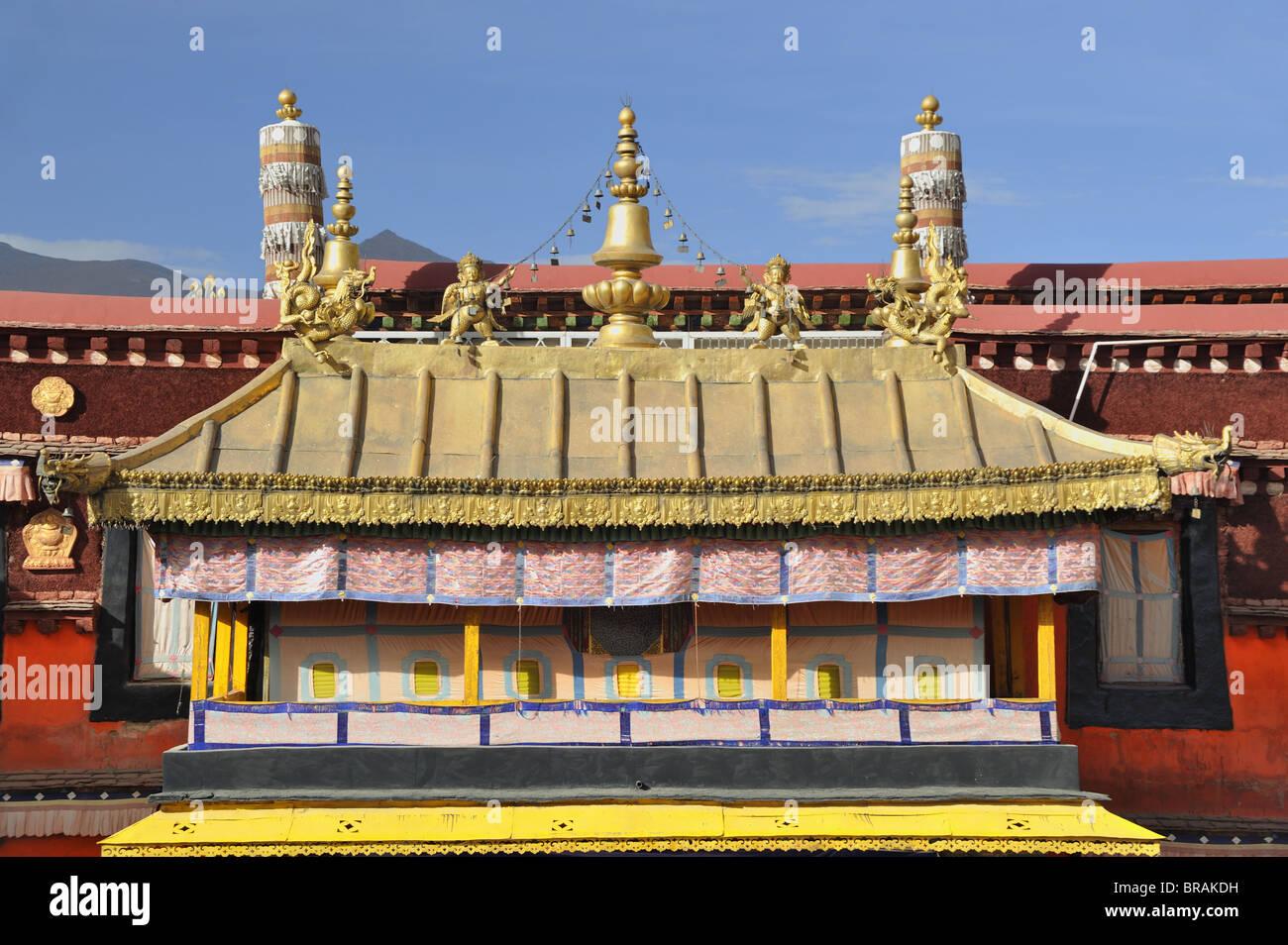 Jokhang Temple. Lhasa, Tibet. - Stock Image