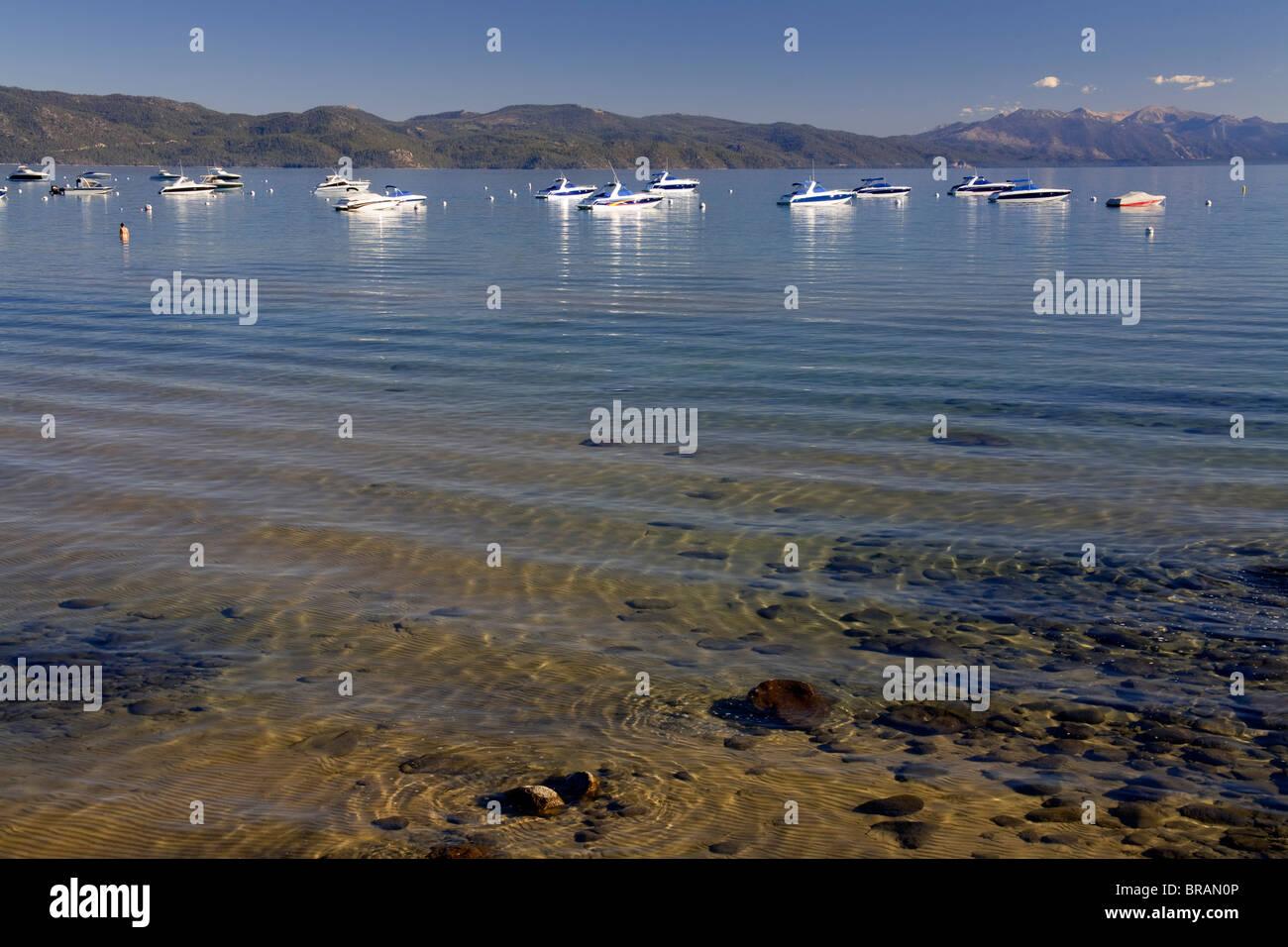 Tahoe Vista Recreation Area, Lake Tahoe, California, United States of America, North America Stock Photo