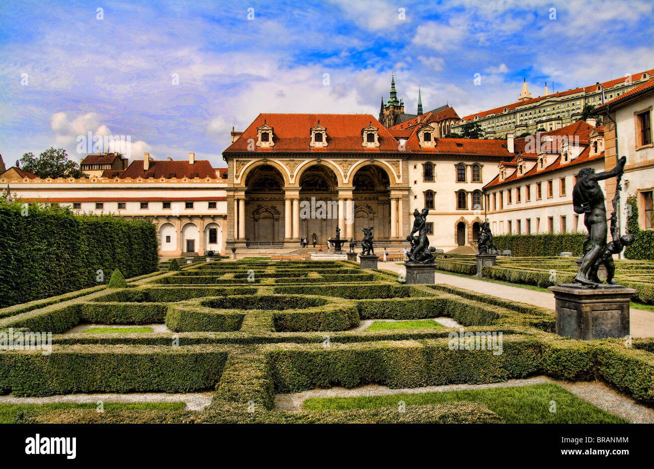 Wallenstein Gardens in the beautiful famous Old Town district of ...