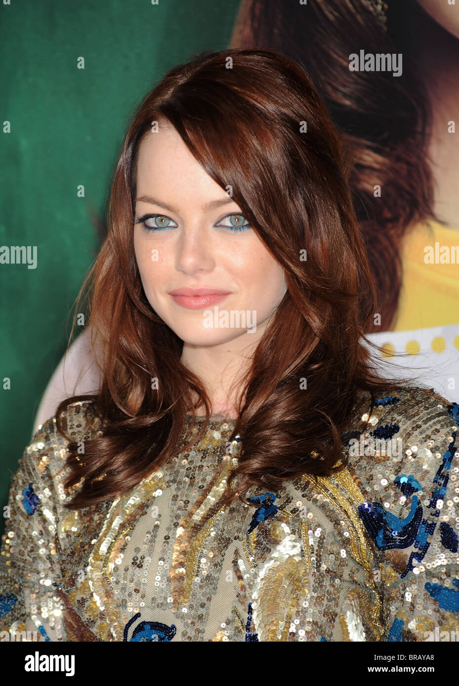 EMMA  STONE US film actress in September 2010. Photo Jeffrey Mayer - Stock Image