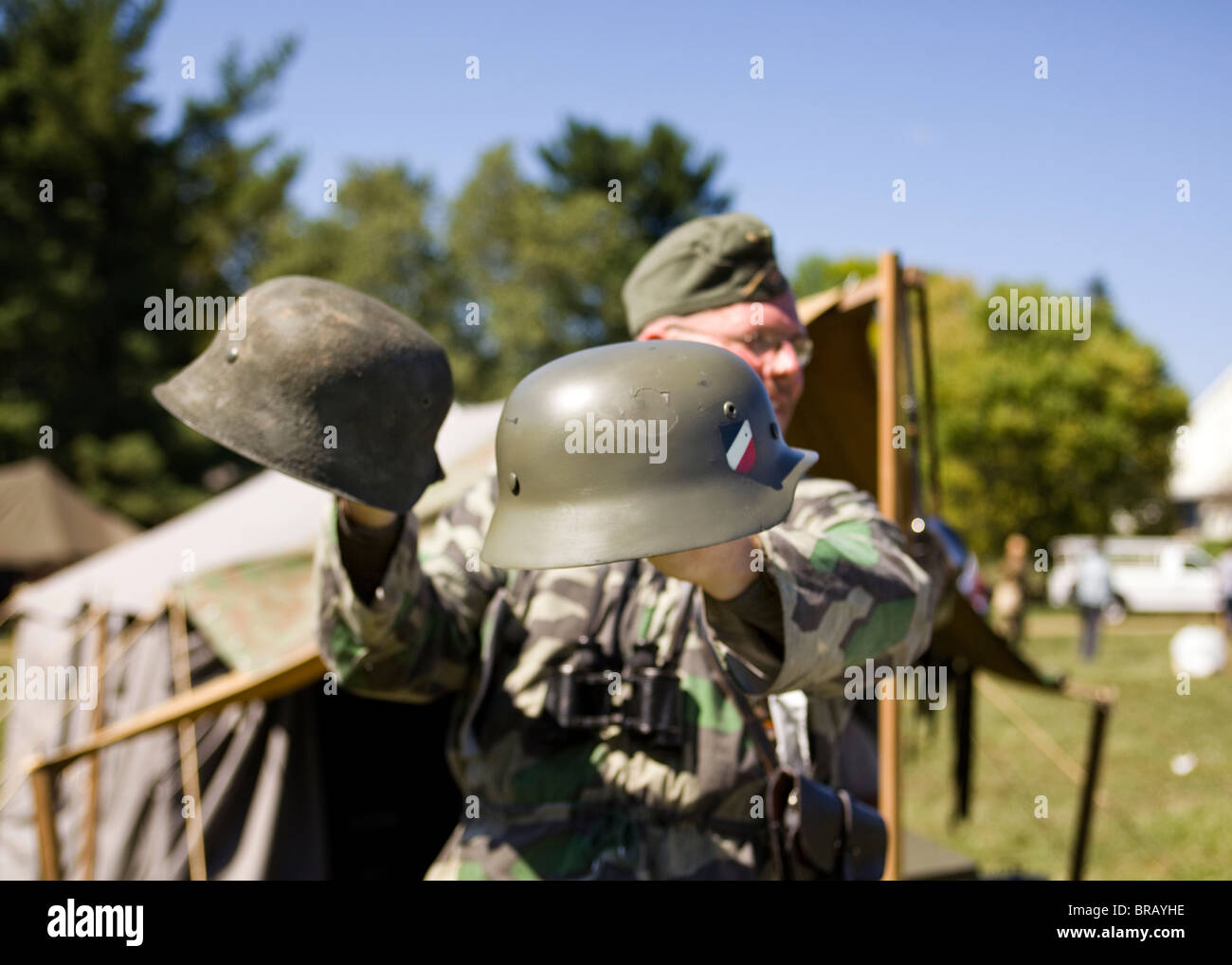 German Helmets Stock Photos & German Helmets Stock Images