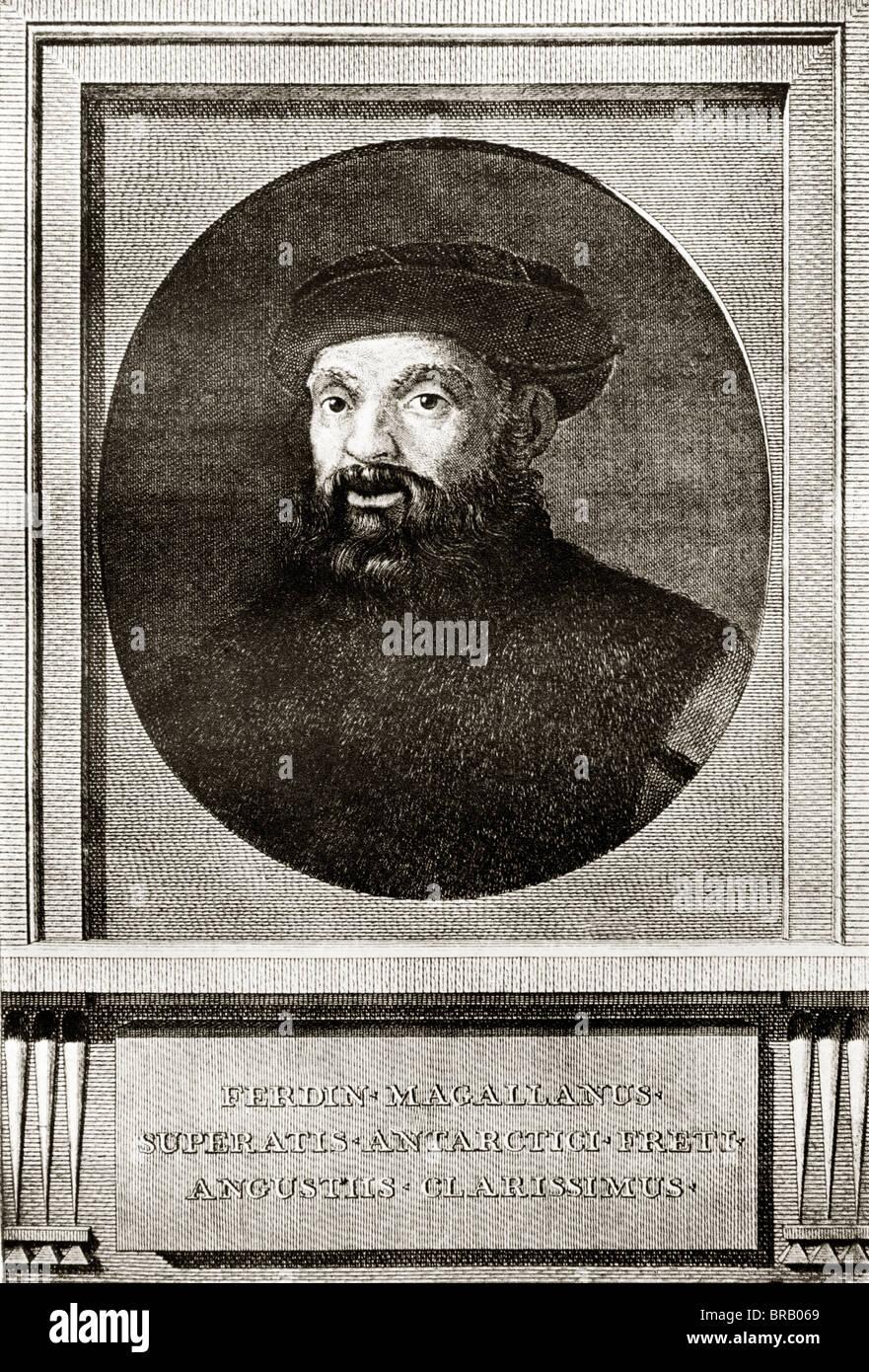 Ferdinand Magellan Portugese Explorer c1480 - 1521 - Stock Image