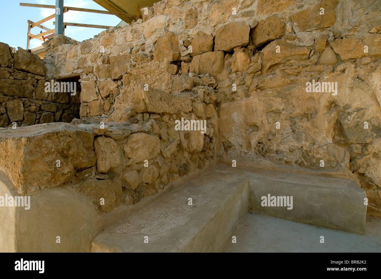 Masada western Palace Stock Photo
