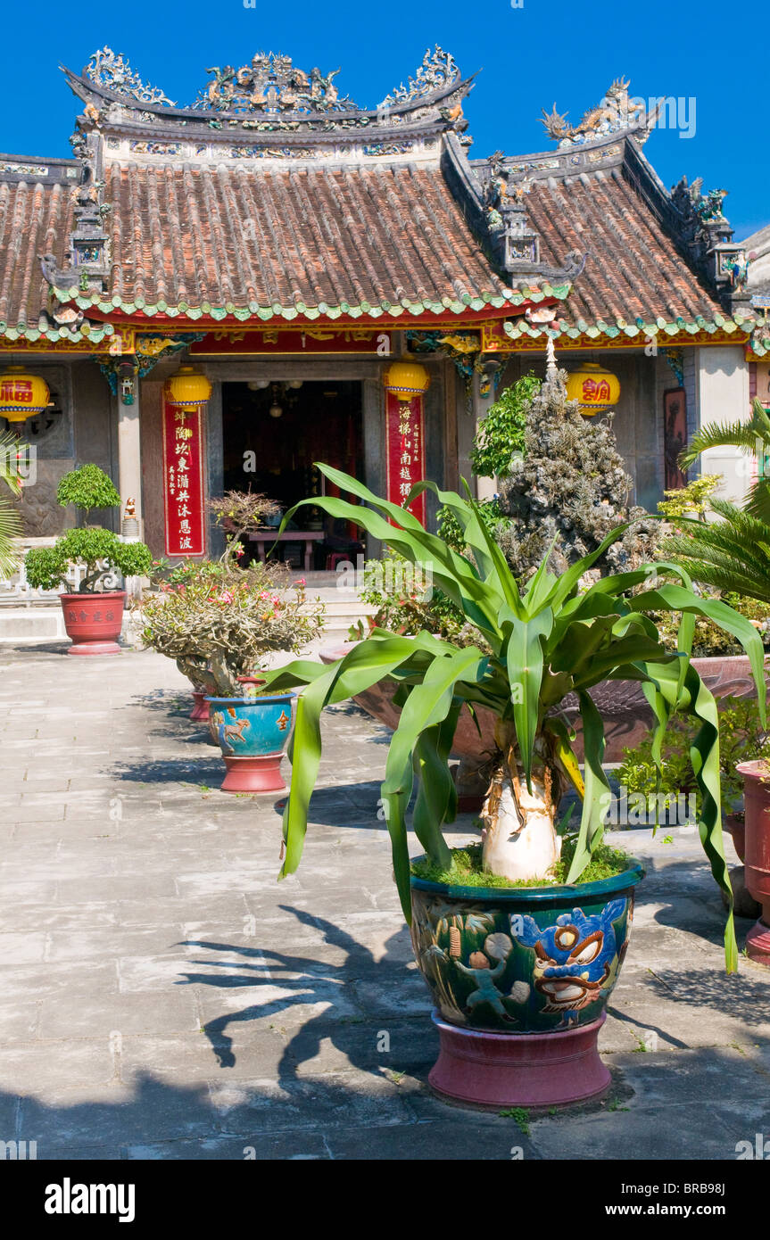 Assembly Hall of the Cantonese Chinese Congregation, Hoi An, Vietnam, Indochina, Southeast Asia, Asia - Stock Image