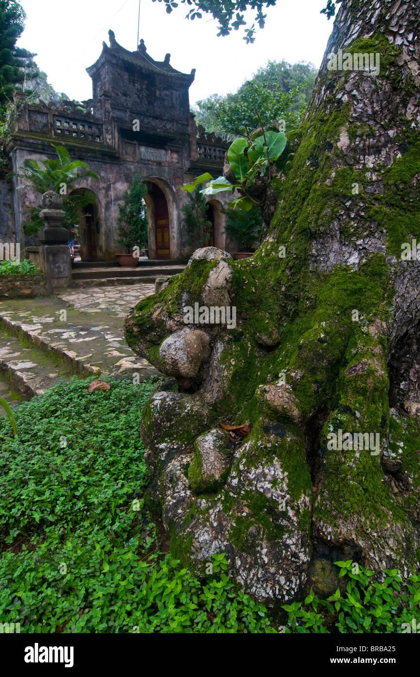 Thuy Son Buddhist Sanctuary, Marble Mountain, Vietnam, Indochina, Southeast Asia, Asia - Stock Image