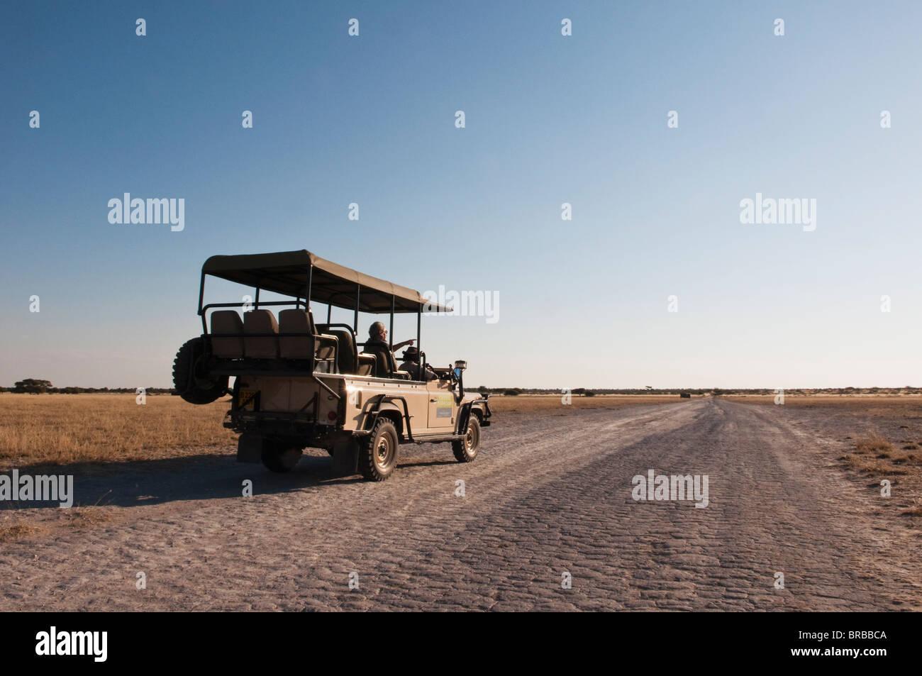 Deception Valley, Central Kalahari Game Reserve, Botswana - Stock Image