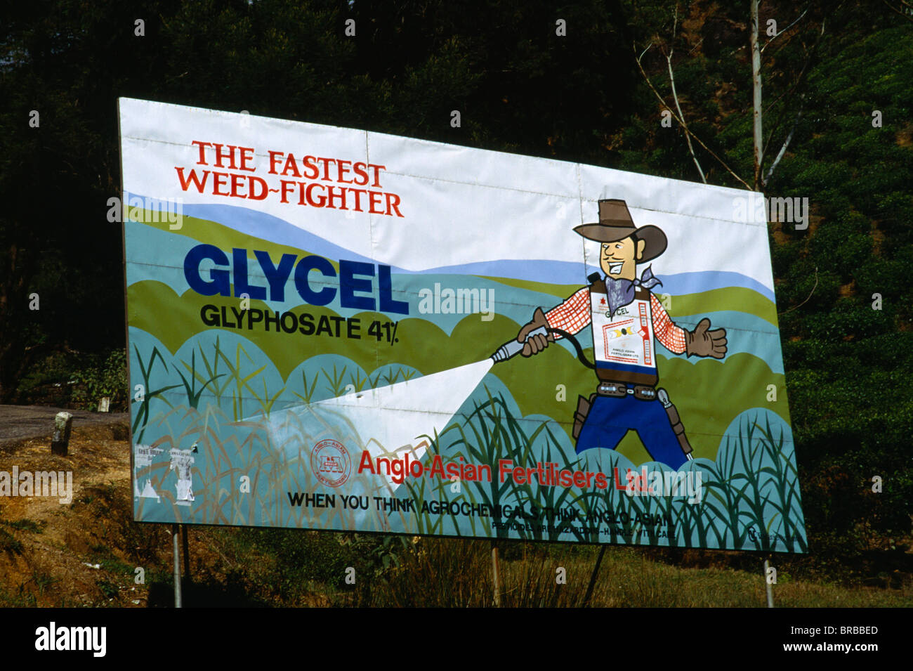 Sri Lanka Agriculture Pesticides Billboard Poster