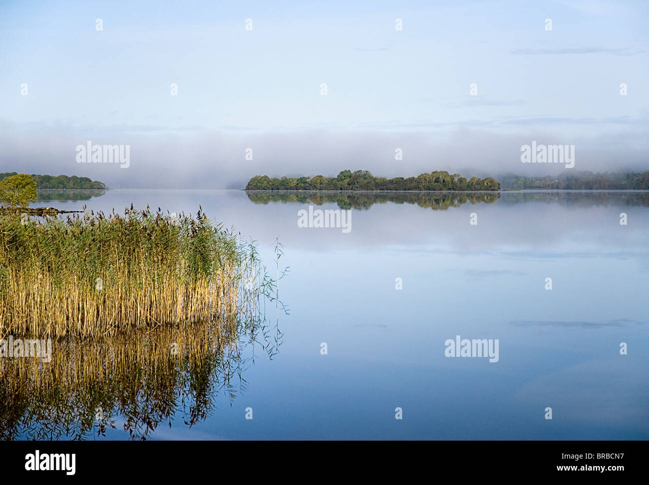 IRELAND County Cavan Lough Macnean - Stock Image