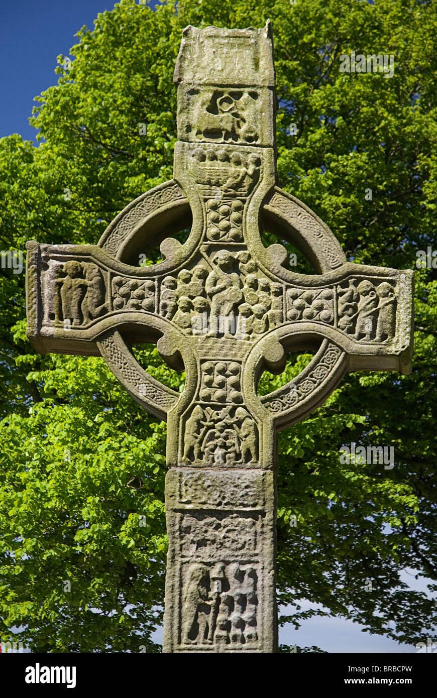 IRELAND County Louth Monasterboice Monastic site - Stock Image