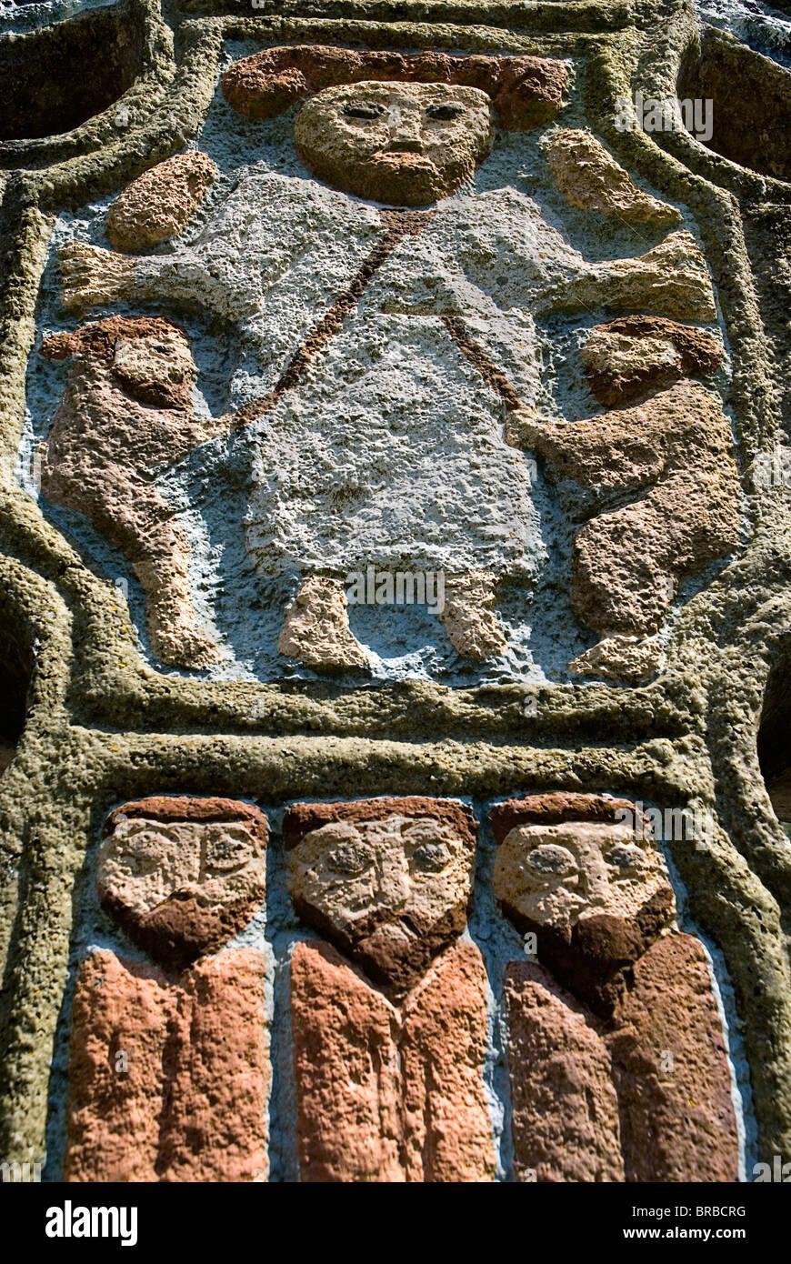 IRELAND County Wexford Irish National Heritage Park - Stock Image