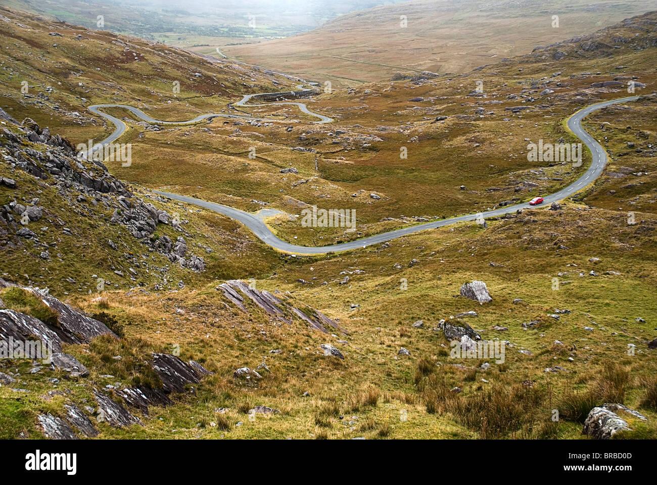 IRELAND County Cork The Tim Healy Pass - Stock Image