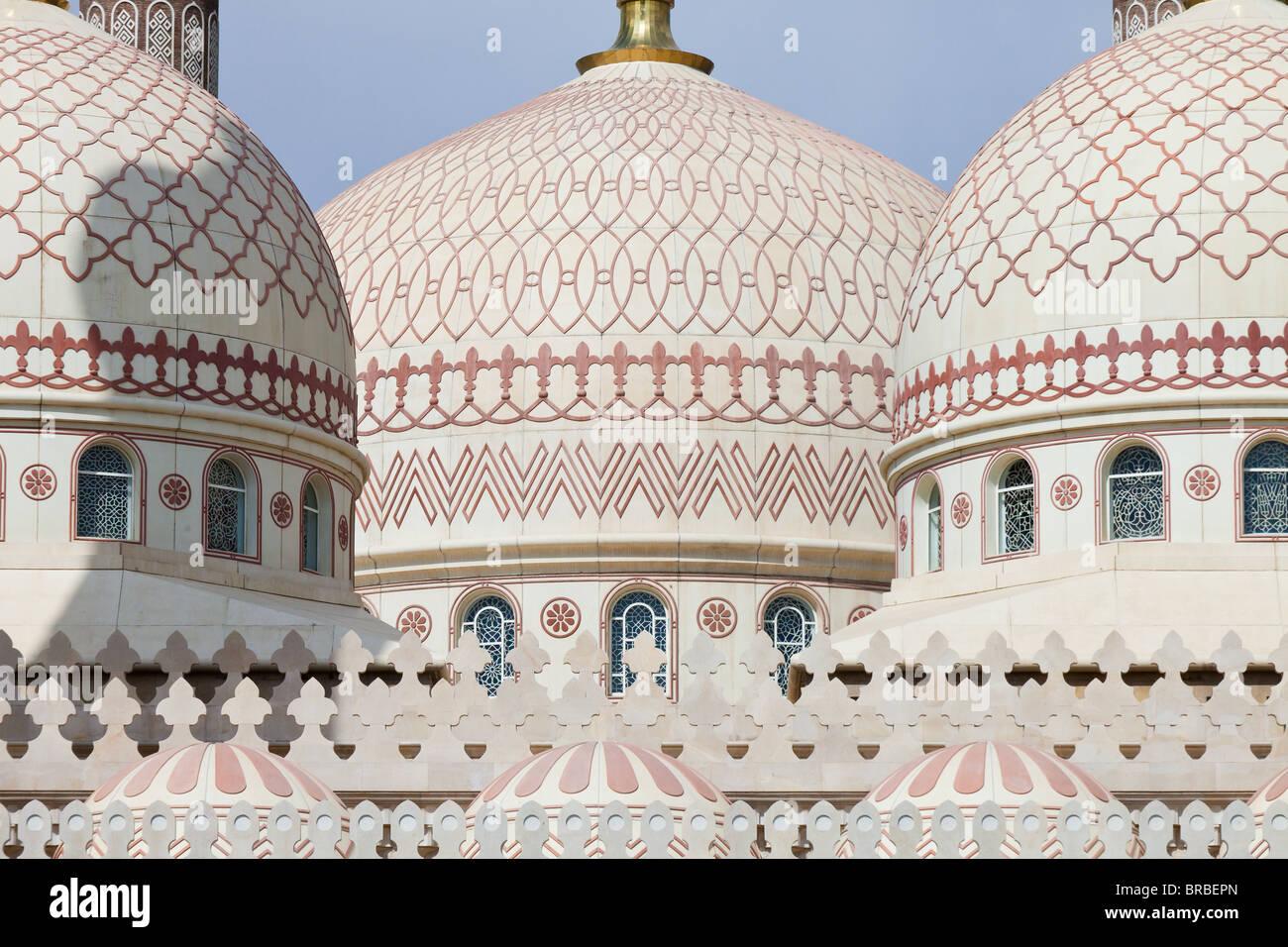 The Al-Saleh (President's) Mosque, Sana'a, Yemen - Stock Image