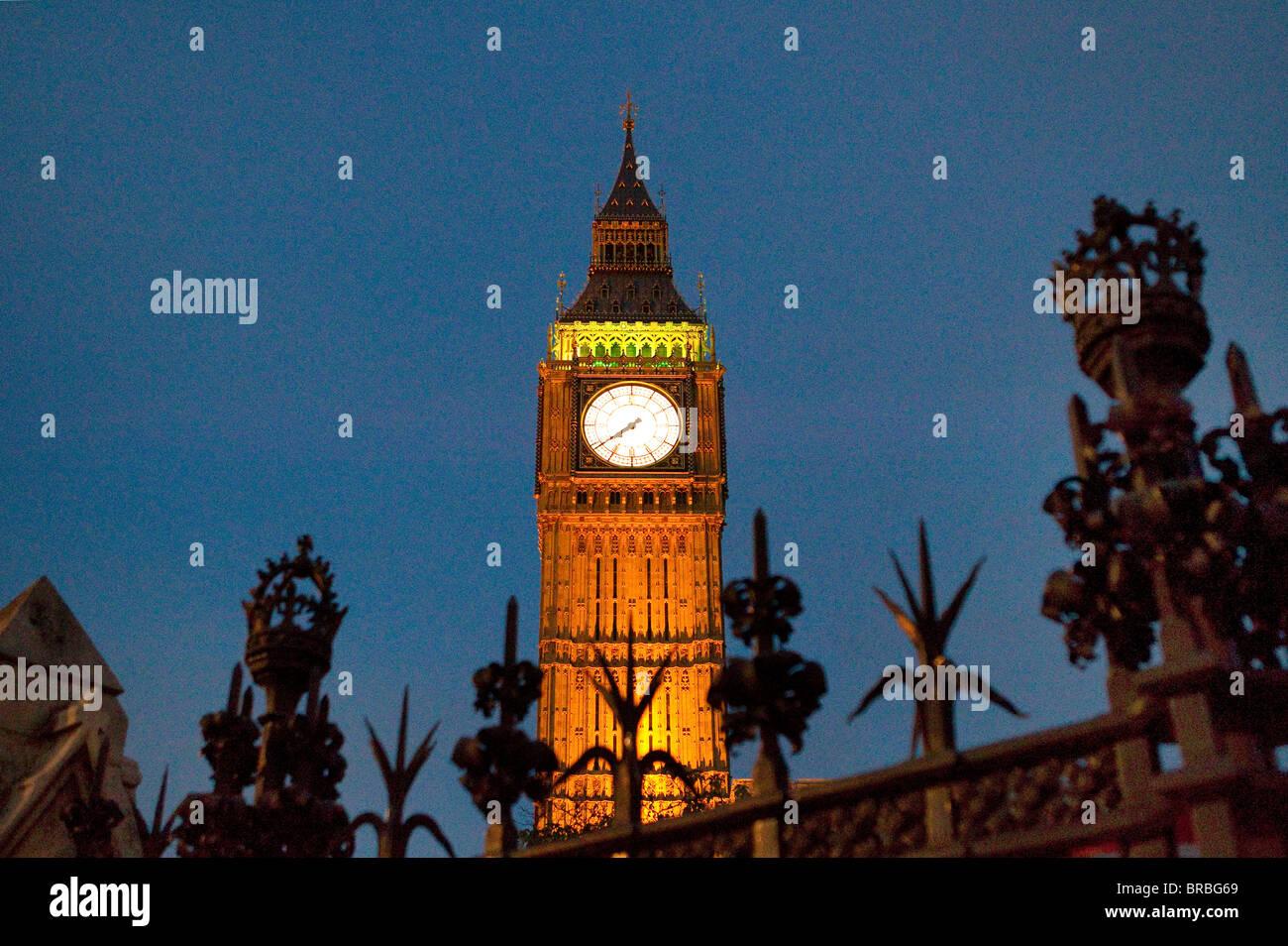 big ben clock tower - Stock Image