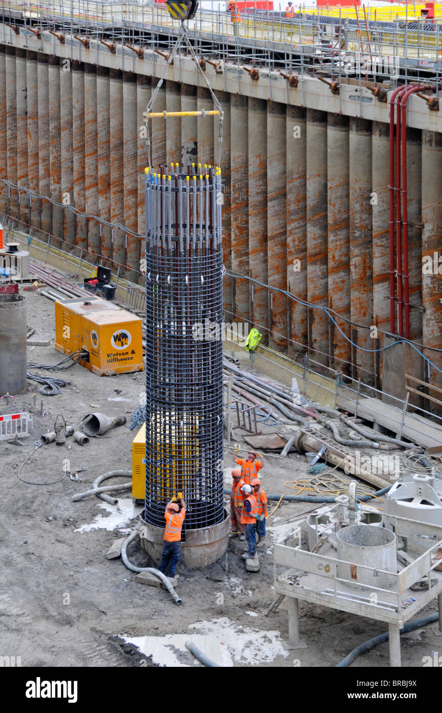Pile Foundation Stock Photos Amp Pile Foundation Stock
