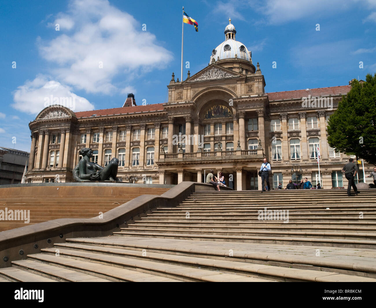 The Council House in Victoria Square, Birmingham City Centre, West Midlands England UK - Stock Image