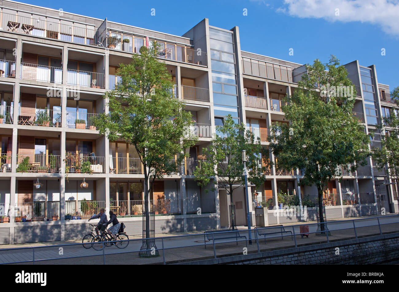 Newly Built Apartments, Duisburg, Germany.