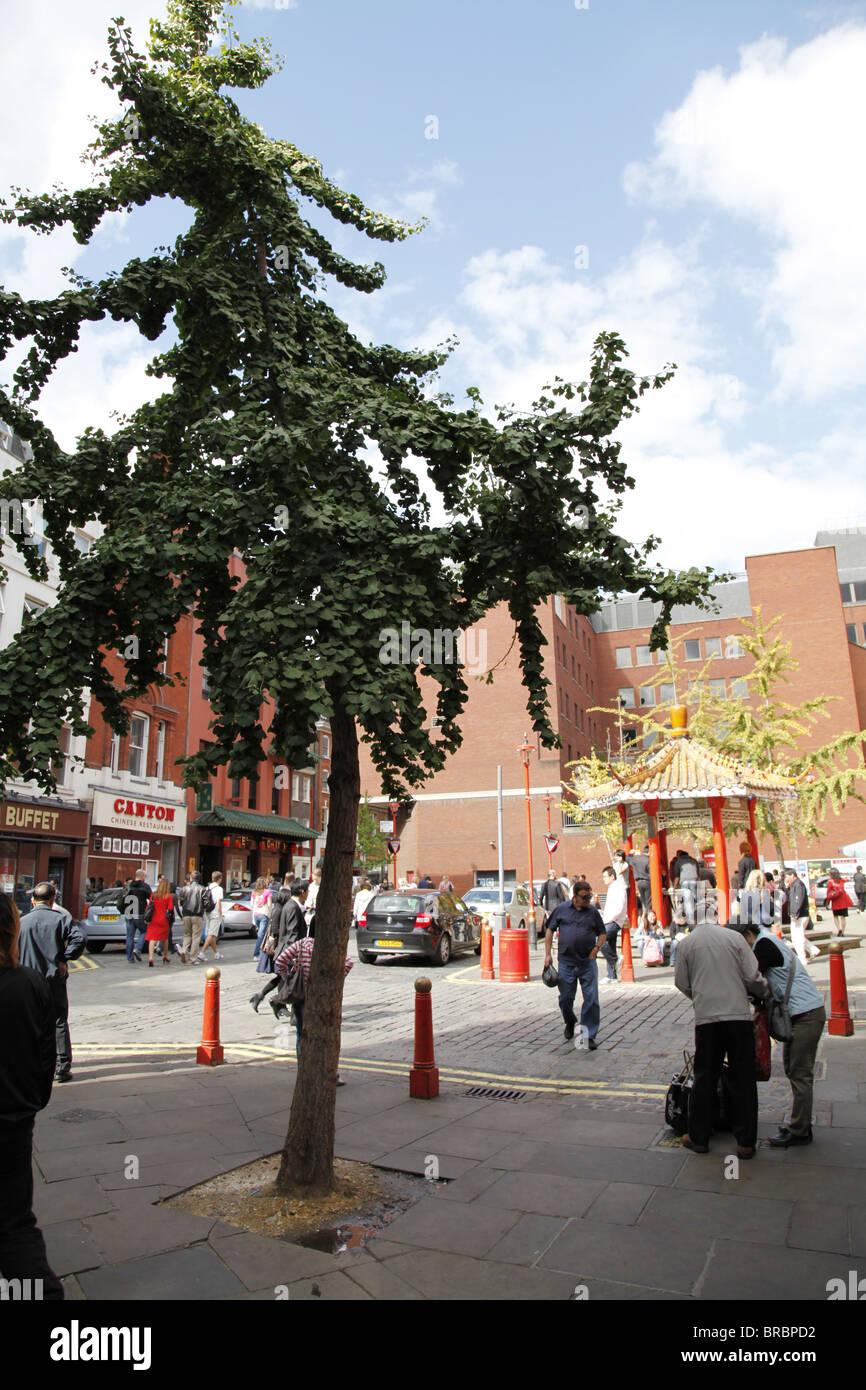 China Town. London - Stock Image