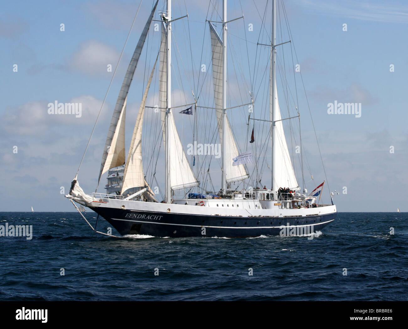 Eendracht, The Tall Ships Races 2010, Kristiansand - Stock Image