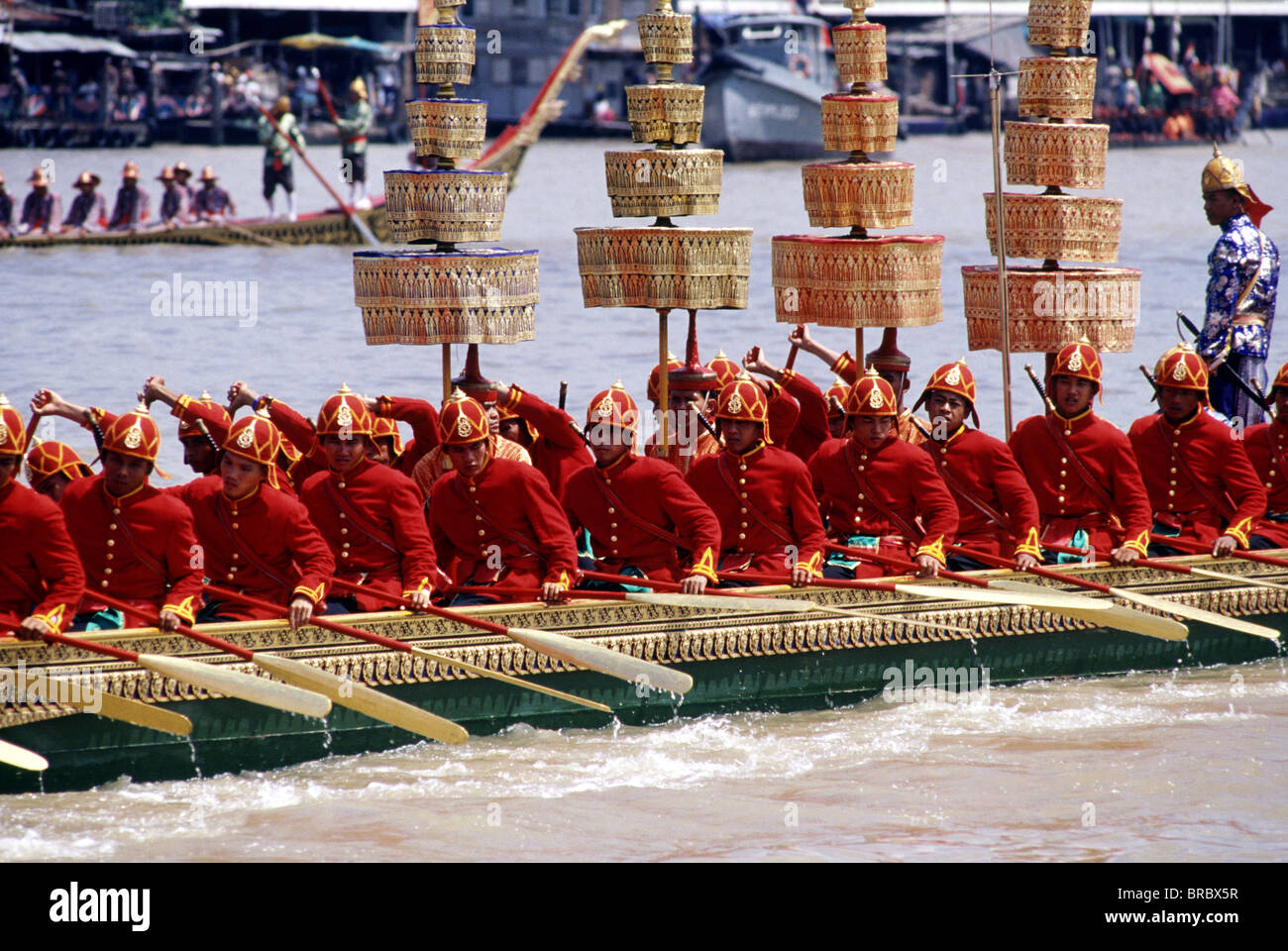 Royal Barge, Bangkok, Thailand - Stock Image
