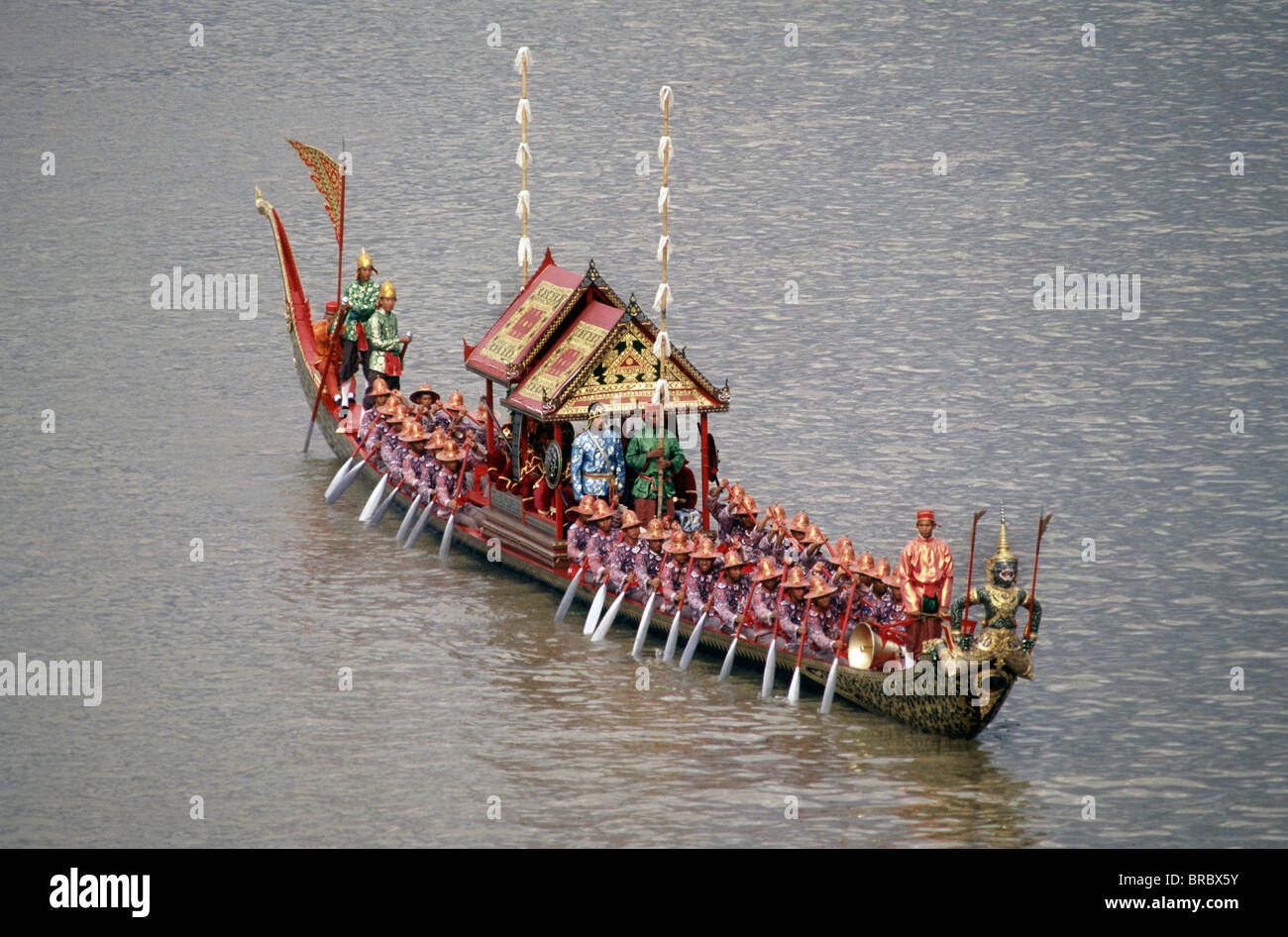 Royal Barge, Bangkok, Thailand - Stock Image