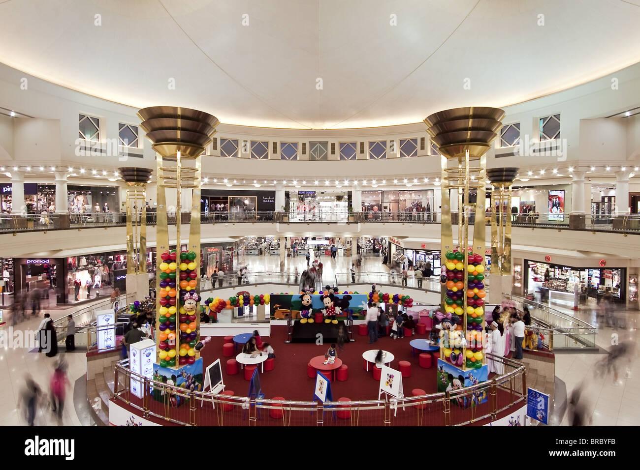 Interior of Deira City Centre Shopping Mall, Dubai, UAE