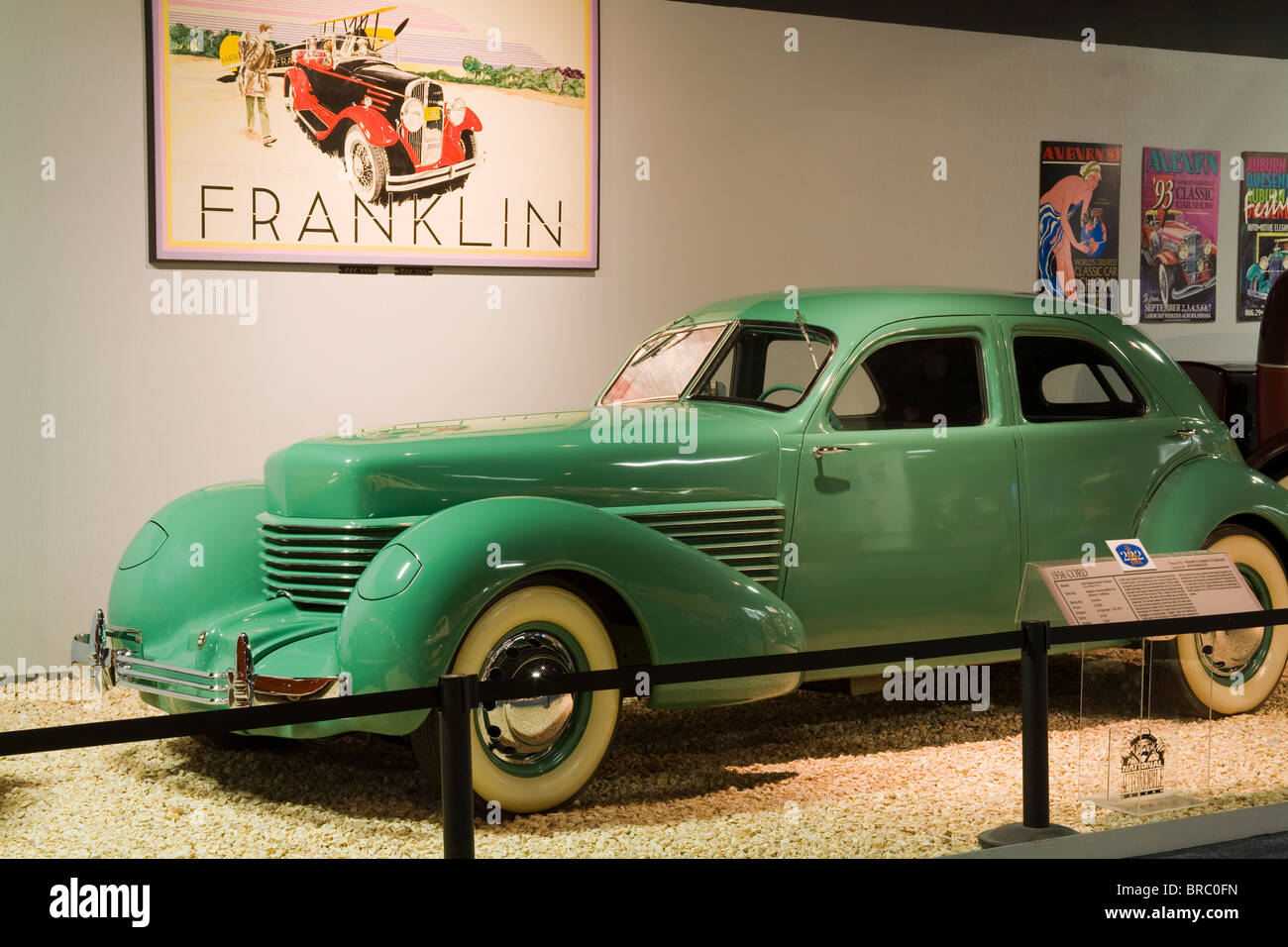 1936 Cord at the National Automobile Museum, Reno, Nevada, USA - Stock Image